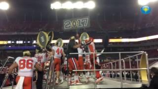 Clemson celebrates title win
