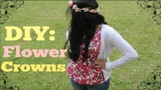 DIY: Flower Crown Tutorial (EASY) Thumbnail
