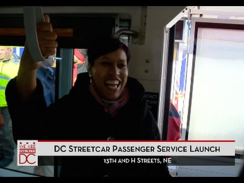 Mayor Bowser Launches District Streetcar, 2/27/16