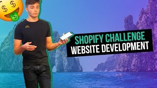 (Day 3) Shopify Challenge: $0 to $69,713 In 26 Days | Website Development