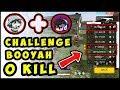 RENDY RANGERS & LOLMAN DI TANTANG CHALLANGE 0 KILL TAPI BOOYAH = 500 DIAMOND ... NGAKAK ONLINE !!