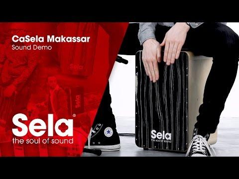 Sela SE 034A CaSela Makassar (Cajon Sound Demo)