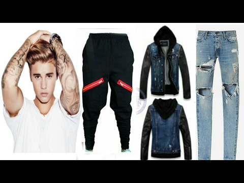 Justin Bieber Fashion Style 2017 - YouTube
