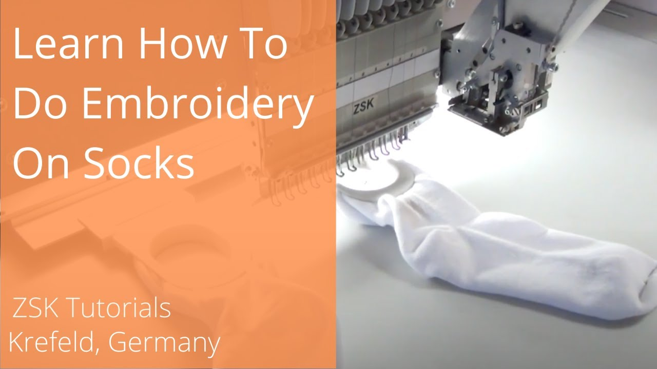 How To Embroider On Socks