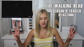 The Walking Dead Season 9 SDCC Trailer! | REACTION!