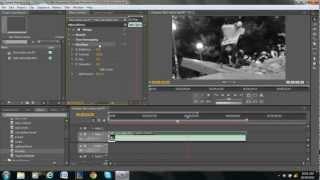 كيفية جعل الفيديو أبيض وأسود في أدوبي بريمير برو