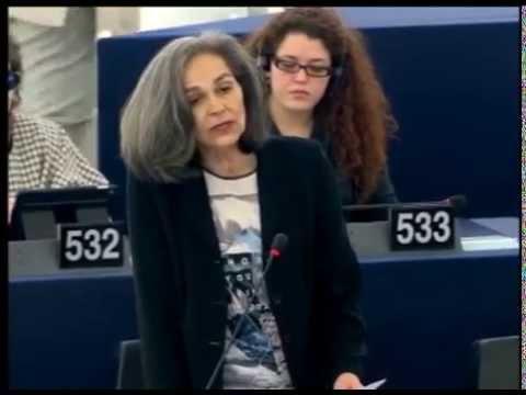 Sofia Sakorafa About Crimea & Russia at the EU Plenary