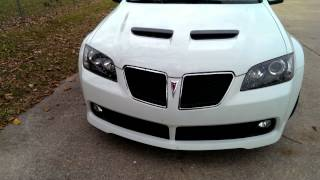 Pontiac G8 Plasti Dip White Hot