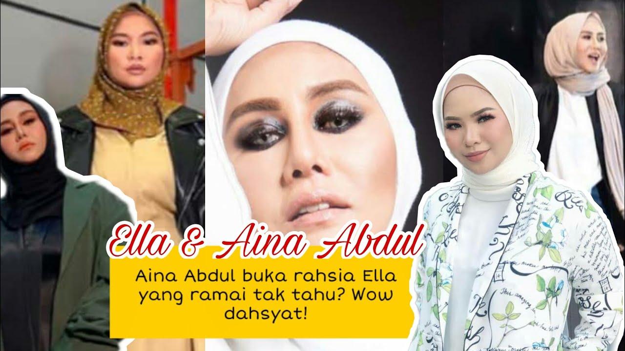 Aina Abdul cerita tentang RAHSIA Ella, Wow dahsyat Ratu Rock Malaysia ni