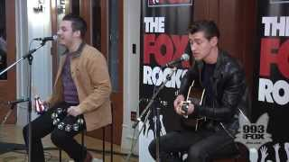 Arctic Monkeys - Do I Wanna Know ? - Acoustic @ Fox Uninvited Guest 2013