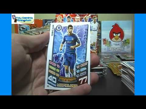 Opening a Box of Topps Match Attax 2012 / 2013 Trading Card Game Packs (Part 4)