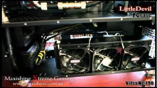 LittleDevil PC case Maxishine Video