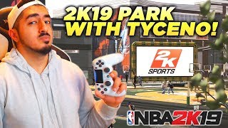 NBA 2K19 - Park Gameplay with Tyceno LIVE!