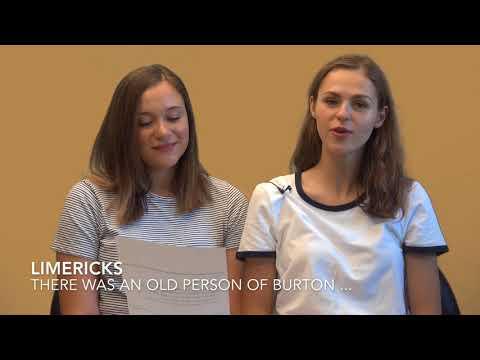 Teachific - Limericks 'Burton' by Edward Lear