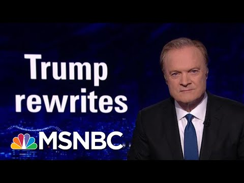The President Donald Trump Team Rewrites The Statue Of Liberty | The Last Word | MSNBC