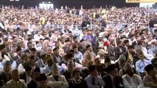 Tilawat Holy Quran, Surah Al-Jumu'ah (v. 1-5) with Urdu translation, Jalsa Salana UK 2011