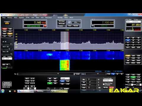 Radio# QSO con EA1ETQ y el Flex 3000