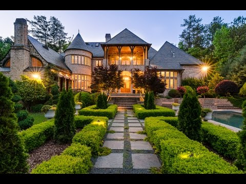5 million dollar english manor in atlanta youtube for Dream homes in atlanta