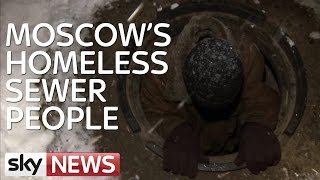 Moscow's Young Homeless Seek Refuge In Sewers