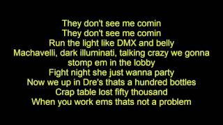 Tyga - Don't C Me Comin ft. A.E. (Lyrics)