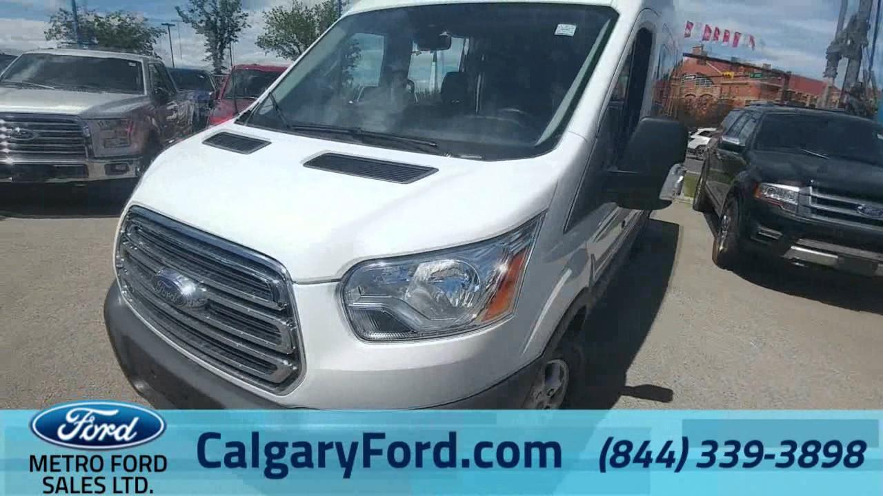 2016 Ford Transit 350 Wagon 15 Passenger For Sale At Metro In Calgary Alberta