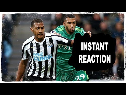 WE WON A GAME! | INSTANT REACTION | NEWCASTLE UNITED 1-0 WATFORD