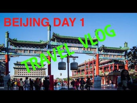 Jalan-jalan ke Beijing (1): Tian'anmen Square & Qianmen Gateway Beijing Cina