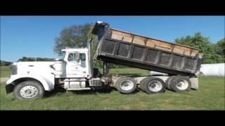 1987 Volvo White Autocar dump truck for sale | no-reserve Internet auction October 27, 2016