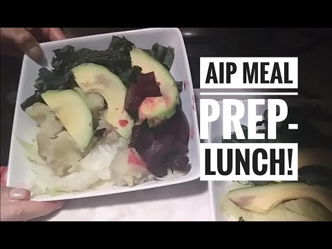 AIP Lunch Prep