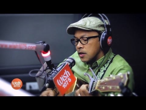 Noel Cabangon Performs Kanlungan Live On Wish 107.5 Bus