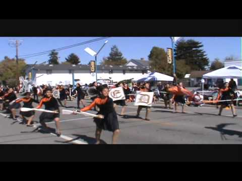 Merced High School Marching 100 @ Santa Cruz Band Review 2013