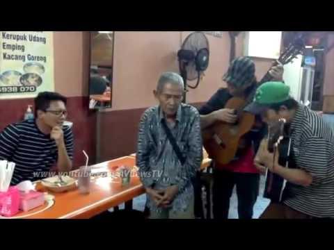 Suara emas penyanyi tua bersama kombeskrim krishna murti direktur reserse kriminal umum