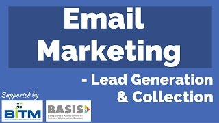 email marketing lead generation bangla tutorial 2016 episode 01     bitm basis