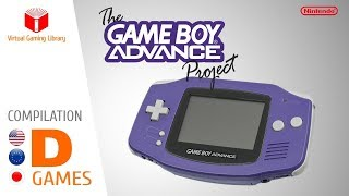 The Game Boy Advance Project - Compilation D - All GBA Games (US/EU/JP)