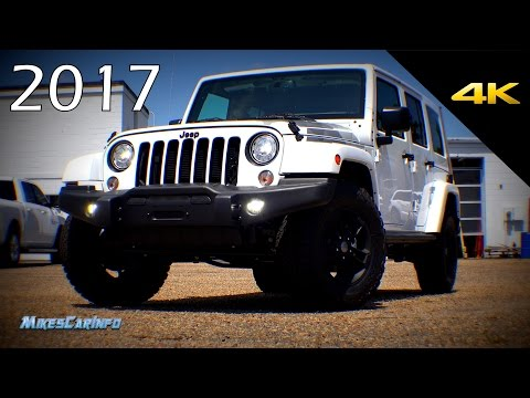 2017 Jeep Wrangler Unlimited Winter Special Edition - Detailed Look In 4K