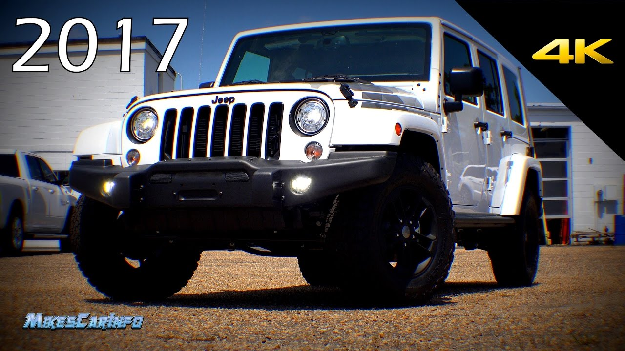 2017 Jeep Wrangler Unlimited Winter Special Edition Detailed Look In 4k