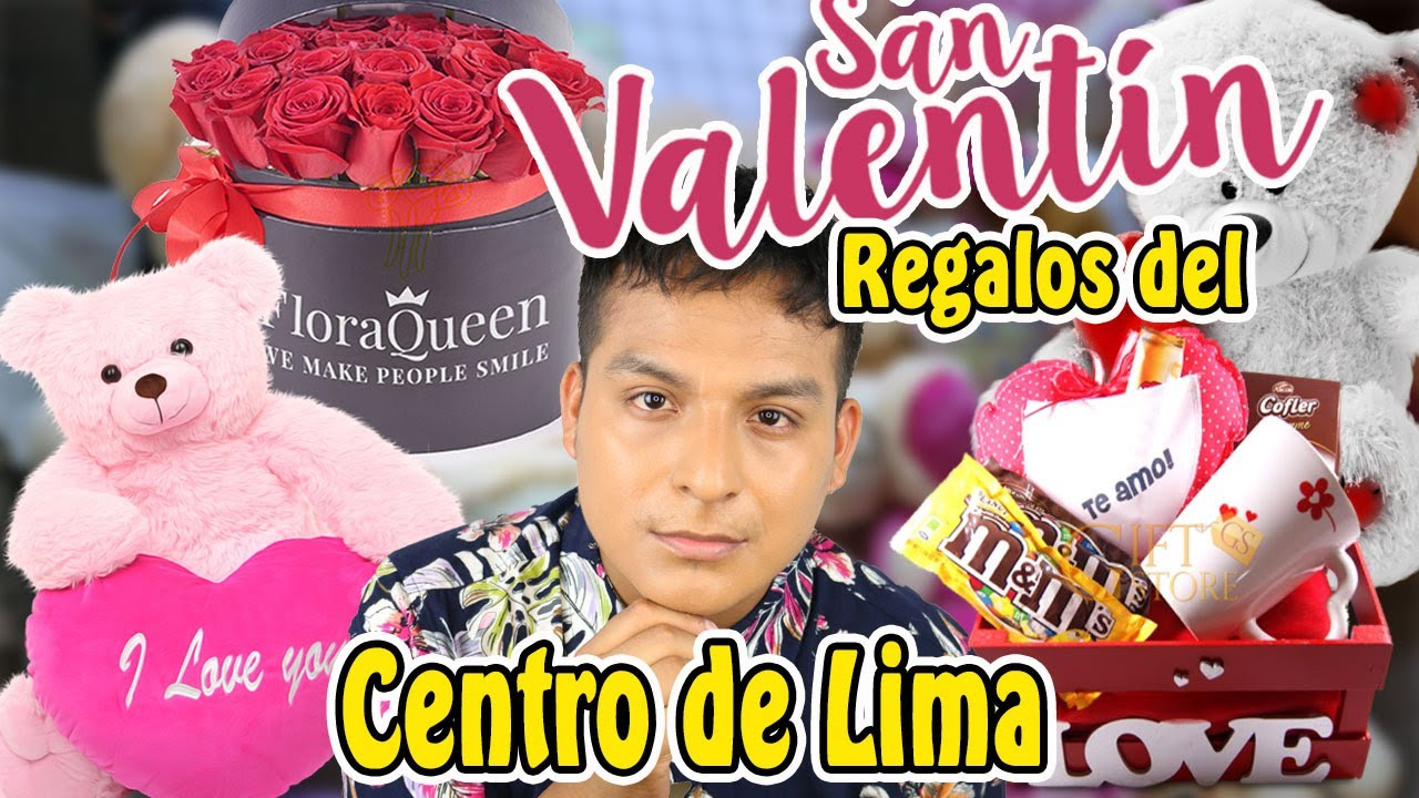 Regalos Economicos Para San Valentin Del Centro De Lima Youtube
