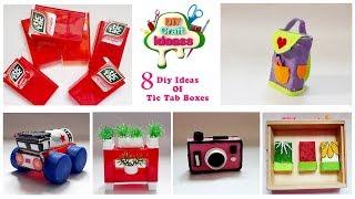 8 DIY Giant And Miniature / tic tac / diy craft ideas