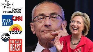 BOMBSHELL: WikiLeaks' Podesta Emails Expose Clinton Campaign Collusion With Media