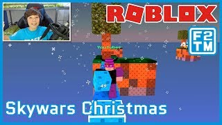 Roblox Skywars Christmas Update | Fraser2TheMax | Roblox Kid Gamer