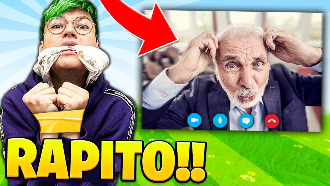 MI RAPISCONO MENTRE SONO IN VIDEOLEZIONE! 😂 scherzo al prof 💻 Fortnite ITA