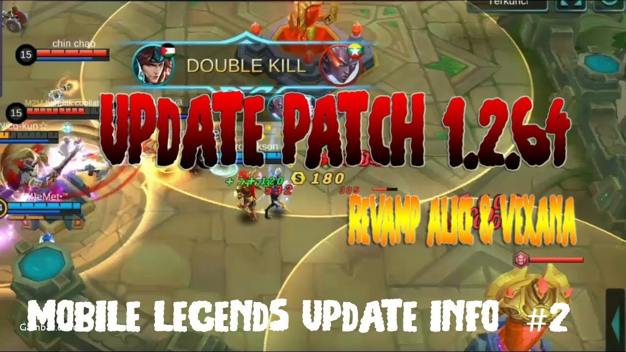 Ml Info Mobile Legends Update Info Patch 1 2 64 Youtube
