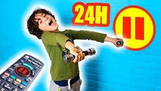 24H PAUSE CHALLENGE - Maman VS fille VS fils _ demo jouets