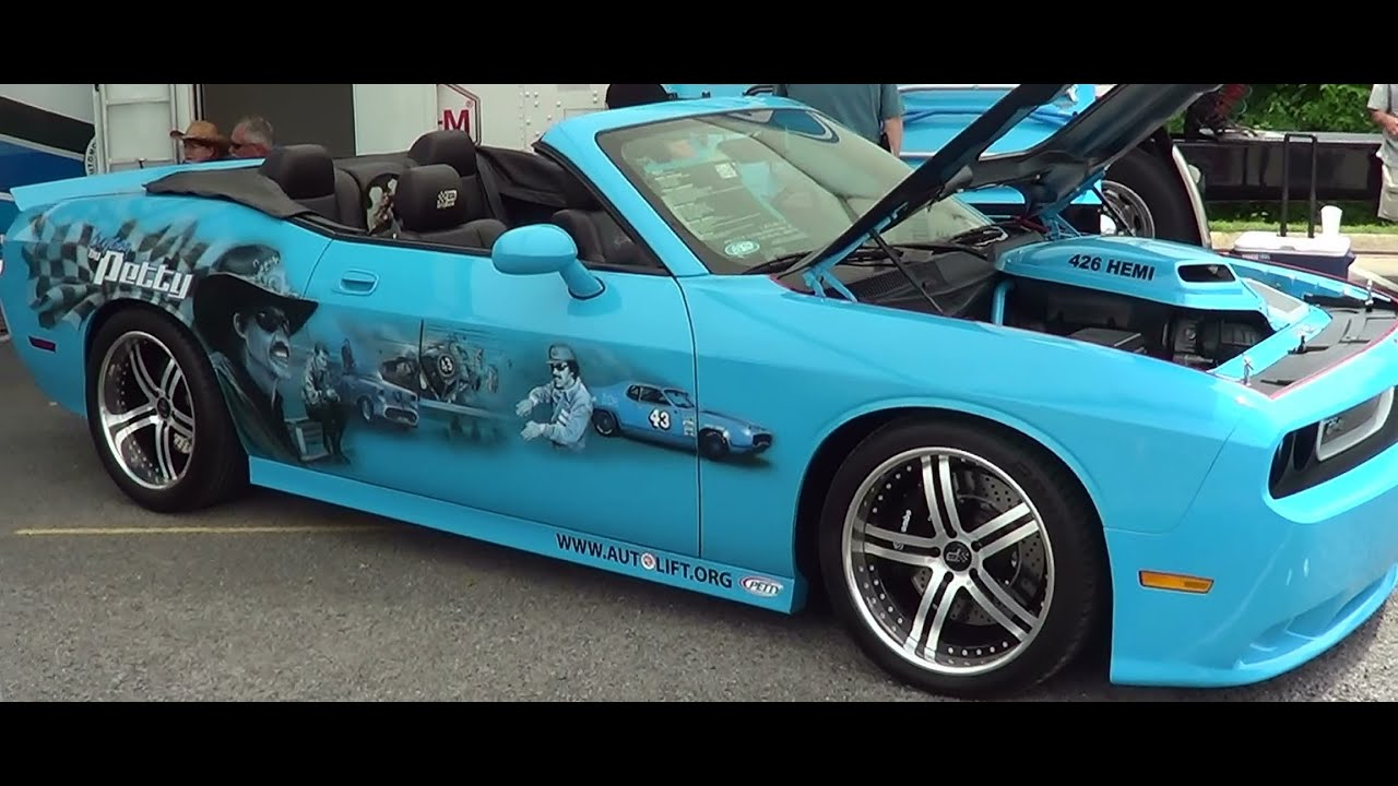 2009 Challenger Petty Legend Edition 426 Hemi Youtube