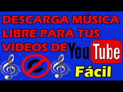 Biblioteca de Audio de Youtube SIN COPYRIGHT o DERECHOS DE AUTOR Como DESCARGAR Música sin Copyright