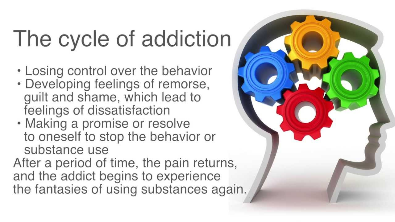 The cycle of addiction - YouTube