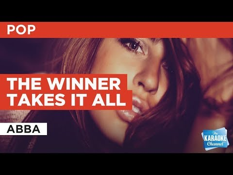 The Winner Takes It All in the style of ABBA | Karaoke with Lyrics