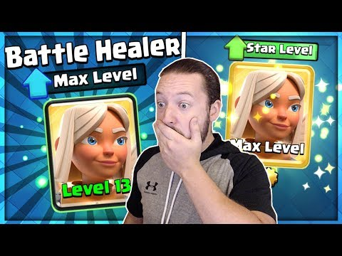 FULL MAX BATTLE HEALER UPGRADE!! AM I CRAZY FOR THIS!? - Clash Royale