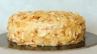 ТОРТ МИНДАЛЬ В БЕЛОМ ШОКОЛАДЕ РЕЦЕПТ ПРОЩЕ ПРОСТОГО White chocolate almond cake recipe