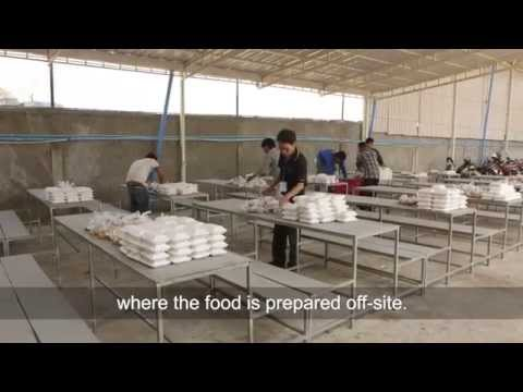 The benefits of free food for workers English